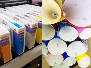 大型印刷、カッティングシートなど対応
